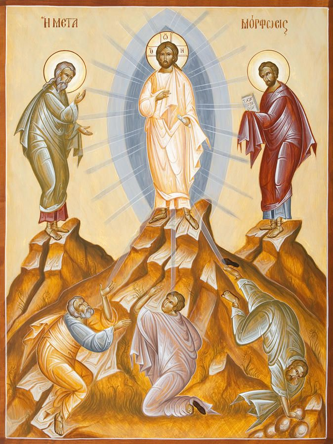 The Transfiguration Of Christ Painting