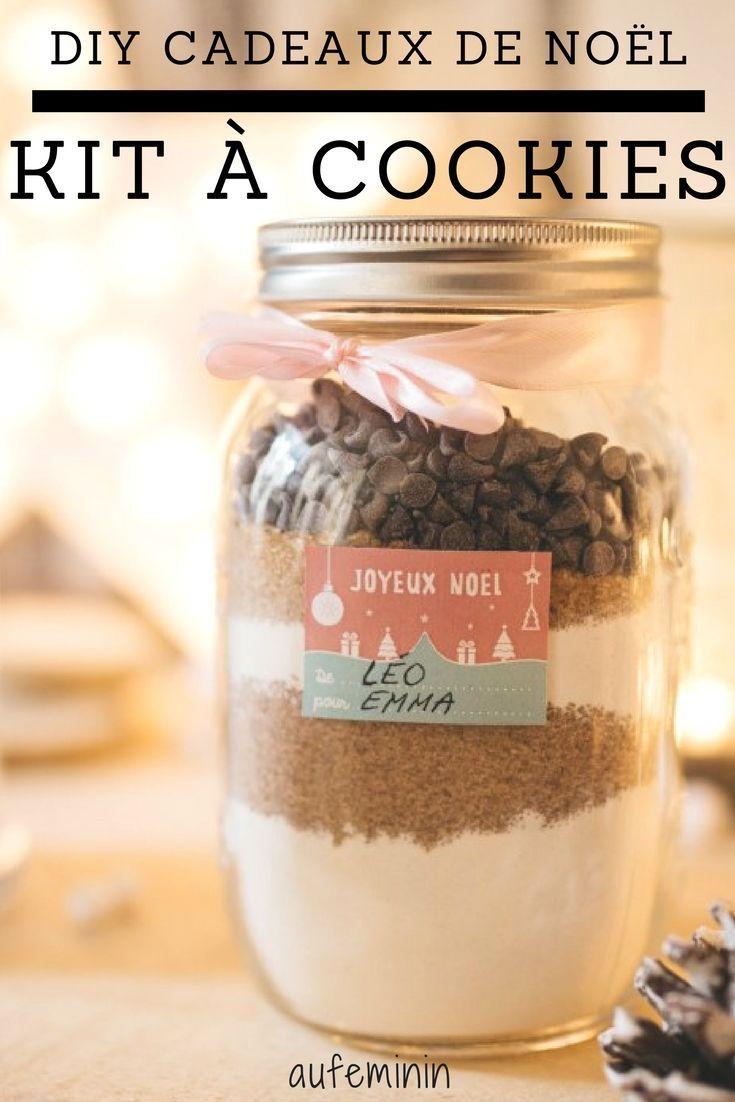 Le Kit à Cookies Pour Un Cadeau Gourmand Jars Diy