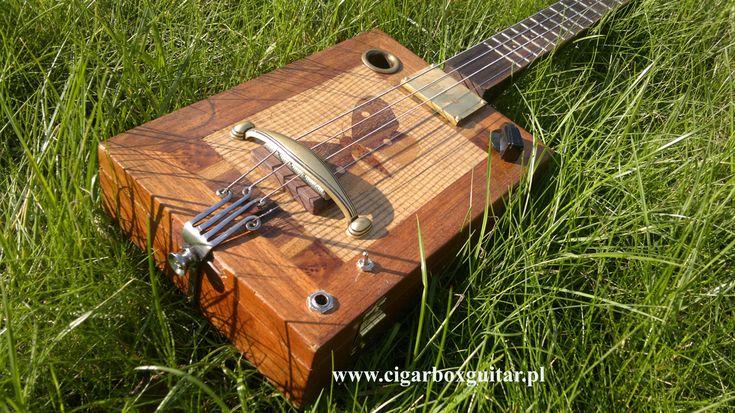 Cigar box guitar - Miku 4 Akne Montecalfi