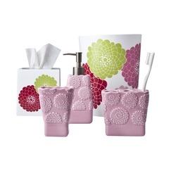 Bathroom Accessories For Girls 13 best pink bathroom accessories images on pinterest | pink