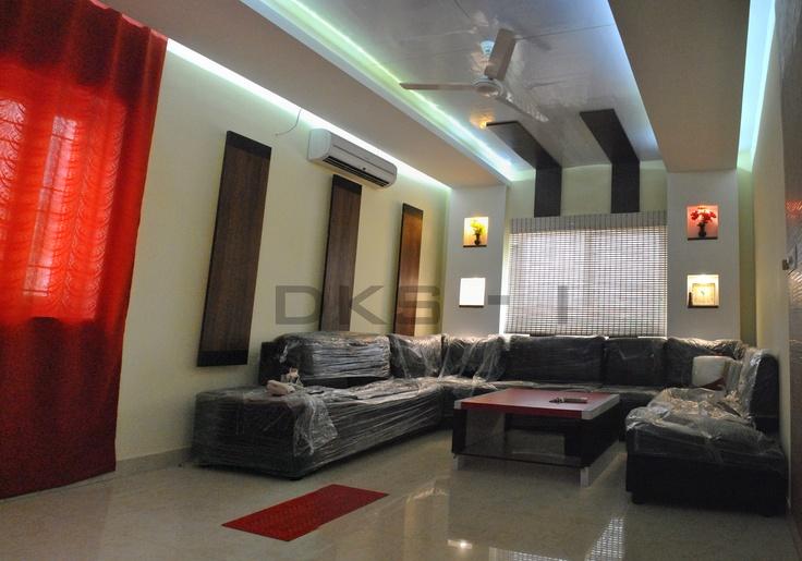 17 best residential interior designs mr prasath for Living room designs chennai