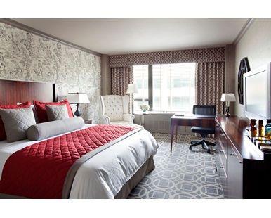 The Madison Washington DC, a Hilton Hotel - King Guest Room | DC 20005