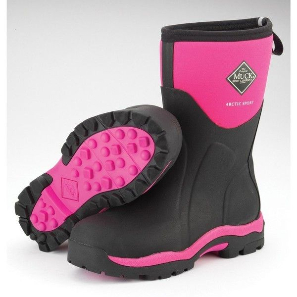 Muck Boots Arctic Sport Mid For Women (8 B(M) US Women ($125) ❤ liked on Polyvore
