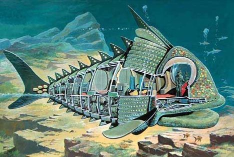 cutaway illustration by Graham Bleathman, best know for his work with Gerry Anderson.