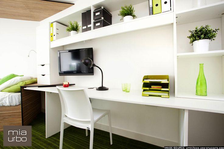Student accomodation_The Curve_ 03_London furniture design