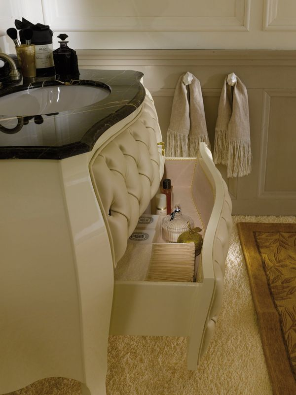 Cameo bathroom furniture drawers.