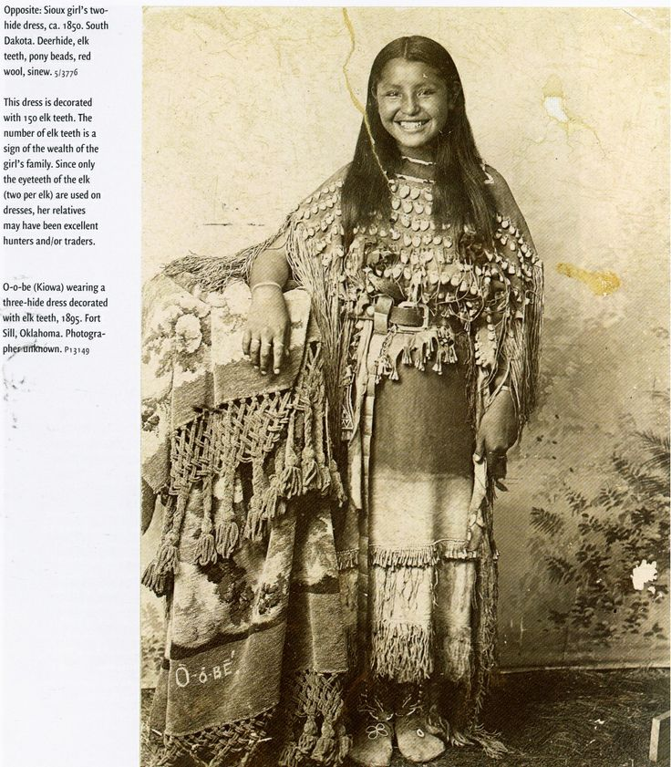 American Indian girl, Oklahoma, 1895. | native : american ...