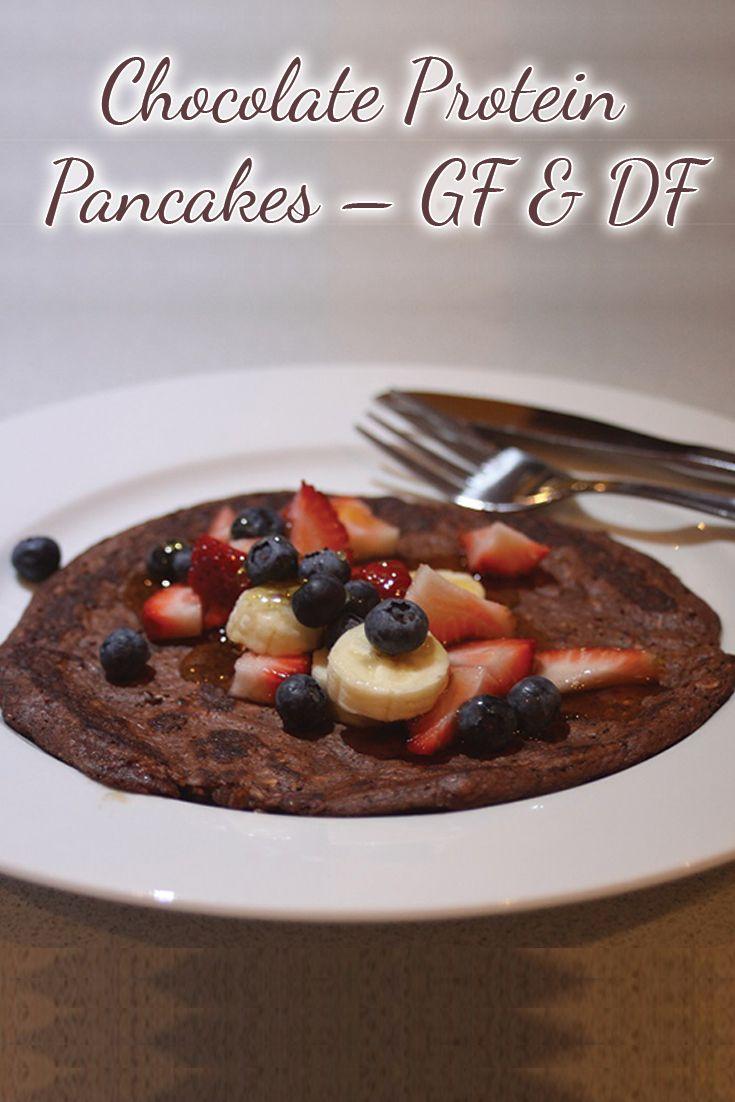 Chocolate Protein Pancakes – GF & DF