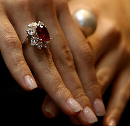 68 Best Ruby Is My Birthstone Images On Pinterest Rings