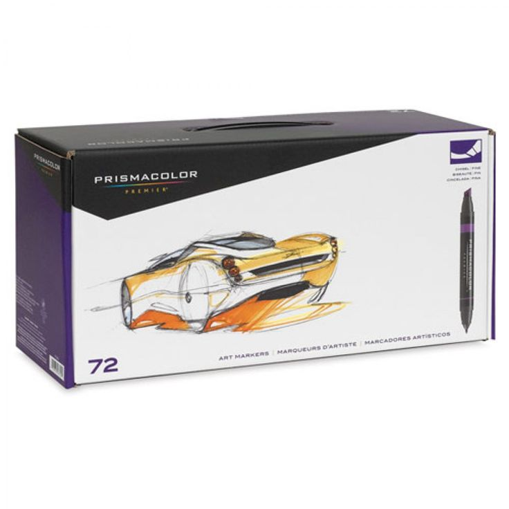 72 marcadores Prismacolor Premier. Set Edición Especial.