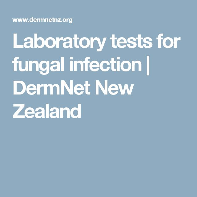 Laboratory tests for fungal infection | DermNet New Zealand
