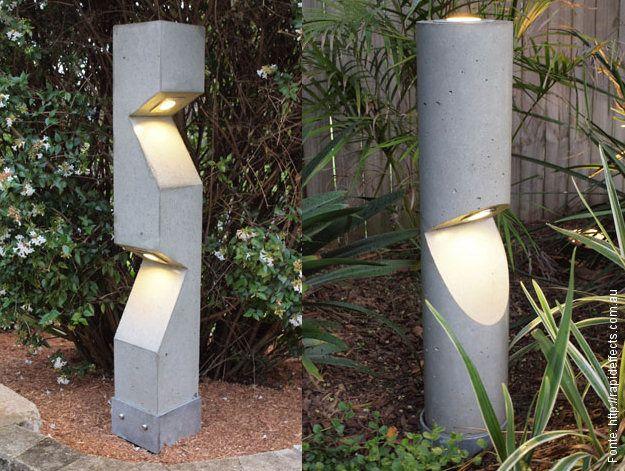 Luz concreta - Passeio - Revestimentos e Sensações