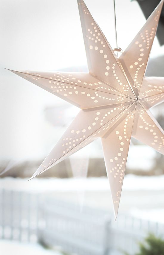 Best 25 white christmas lights ideas on pinterest white for 6 star window christmas decoration lights