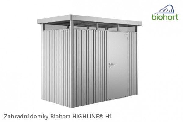 Zahradní domek HIGHLINE® H1, bílá   - Kliknutím zobrazíte detail obrázku.