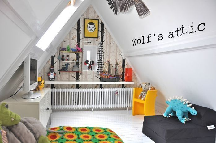 7 Clever Attic Kids Room Decorating Ideas Kids Bedroom Designs