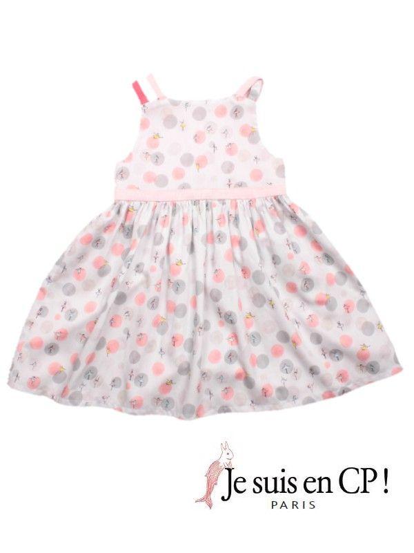 Je suis en CP!(ジュスィザンセーペー) PARIS Dressパリドレス(パリドレス・オリジナルプリント)-JiJi-