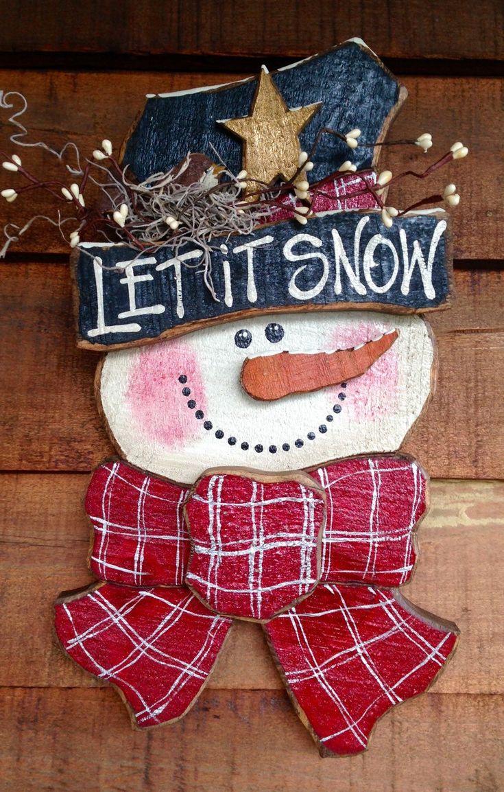 825 Best Crafts Christmas Primitive Images On Pinterest