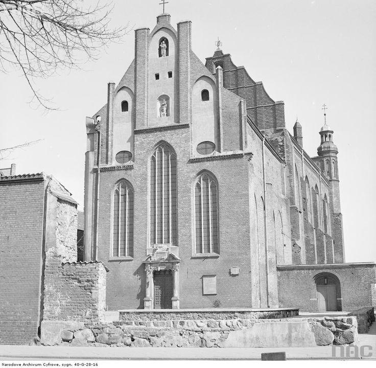Gotycki kościół.