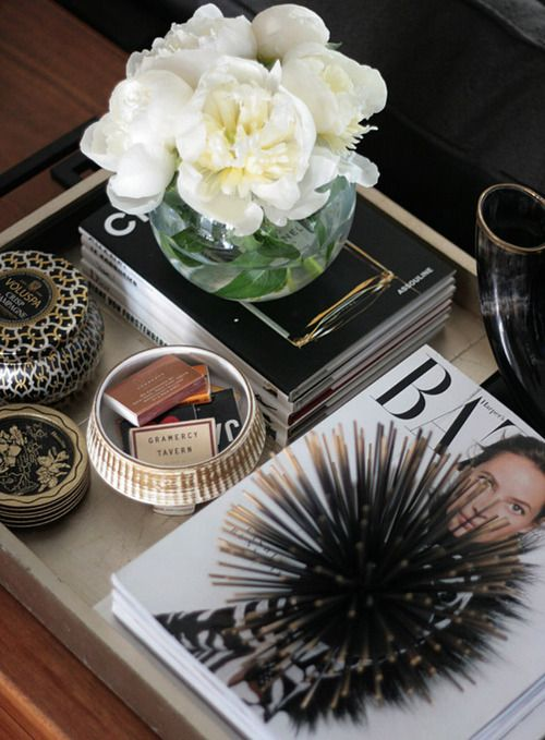 Love the idea of all of that in a tray. Helps make it more compact! On consultation room table? I THINK YES!