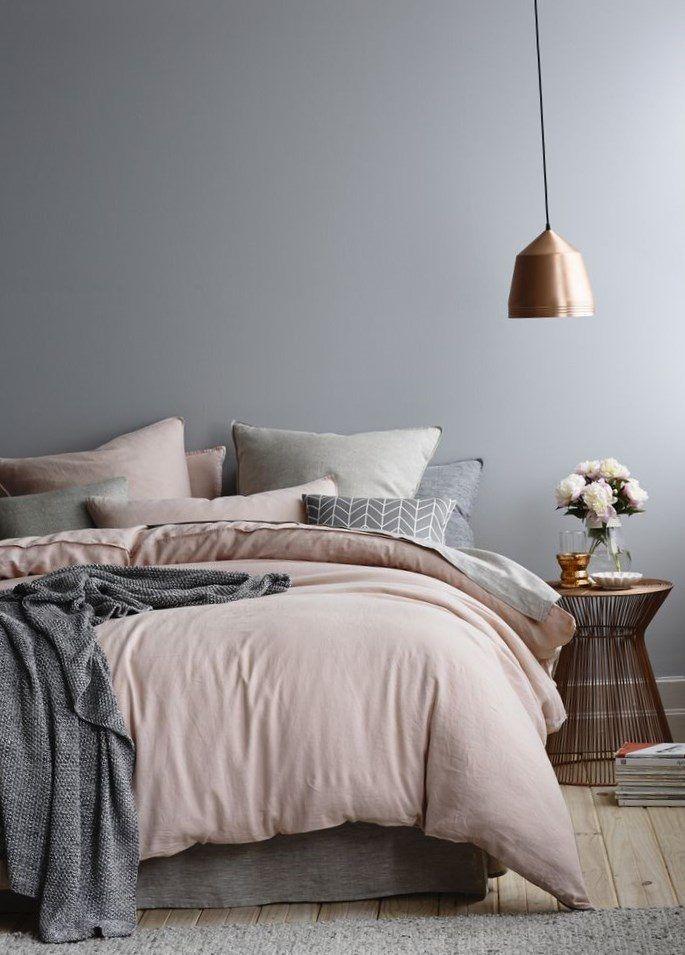 Dusky pink bedroom - https://bedroom-design-2017.info/ideas/dusky-pink-bedroom.html. #bedroomdesign2017 #bedroom