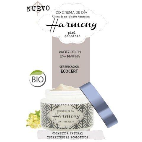 Harmony DD Crema inteligente multifunción 12 horas Ultra-Hidratación para pieles sensibles Ecológica de Esential Aroms.