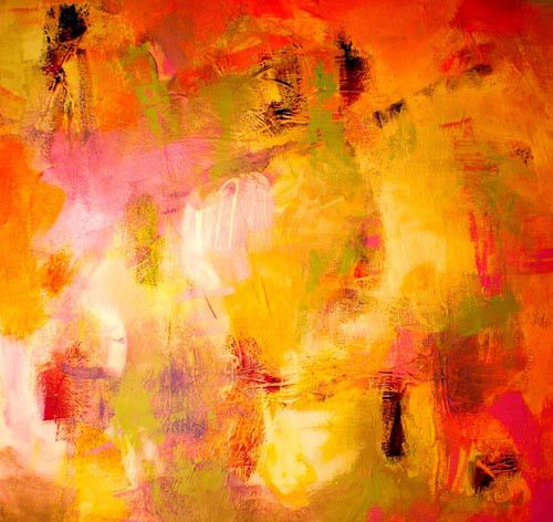 Abstract Artist And Paintings