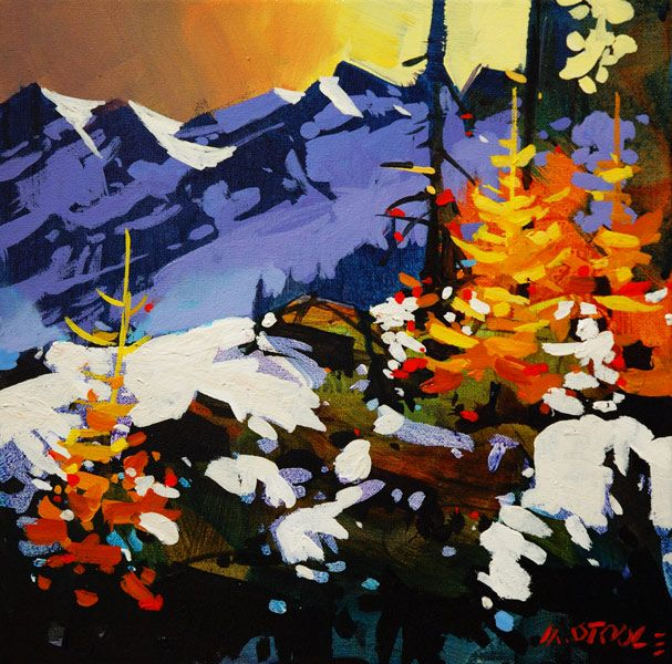 High Ground On The Tantalus By Michael O Toole Art In