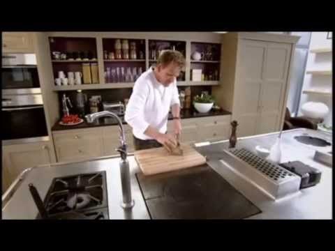 Gordon Ramsay's Crispy Salmon - YouTube