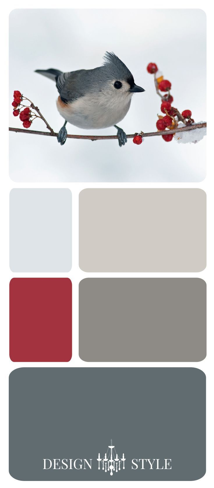 Burgundy And Gray Living Room: Winter White, Beige, Gray, And Red