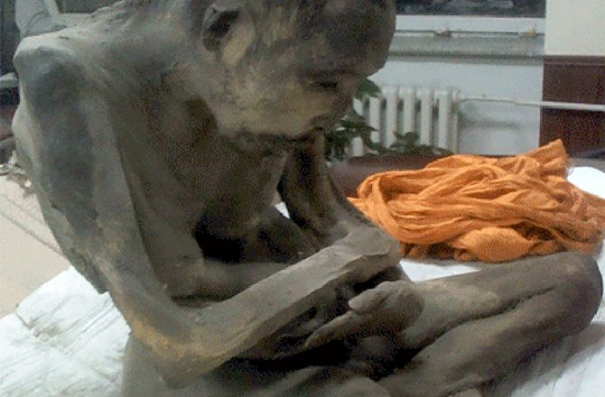 Corpse of 200-Year-Old Monk Found in Lotus Position : Discovery News