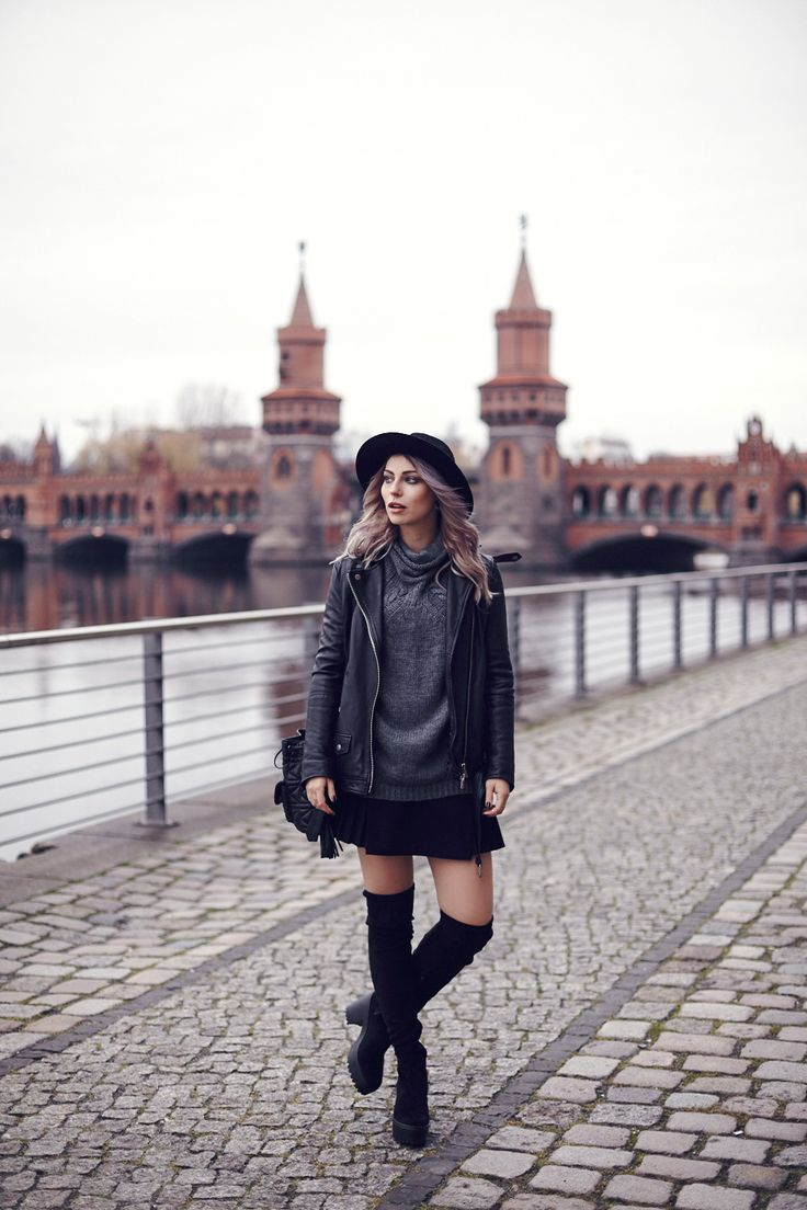 How To Wear Overknees Fashion Blog From Germany Modeblog Aus Deutschland Berlin Style