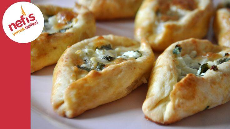 Peynirli Pide Poğaça (Sesli Anlatımı ile) | Nefis Yemek Tarifleri