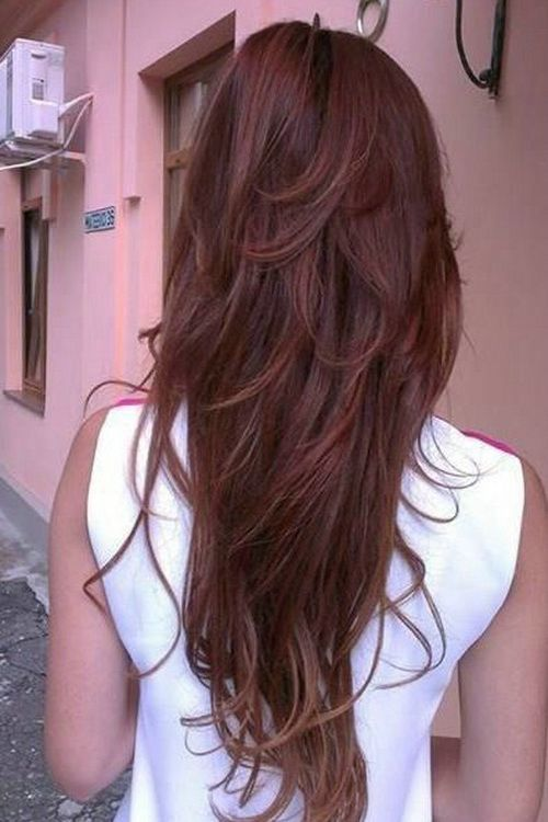 long amp layered hair hair hair pinterest colors hair