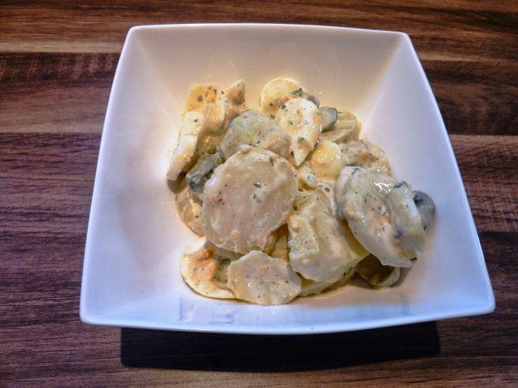 Blog de recettes Weight Watchers Propoint... Ou pas!: Salade de pomme de terre façon allemande - Weight Watchers Propoint