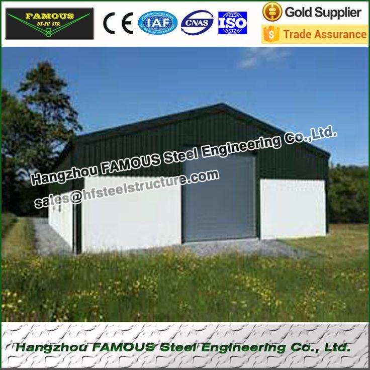 Geprefabriceerde stalen structuur huis voor accommodatie of opslag gebied
