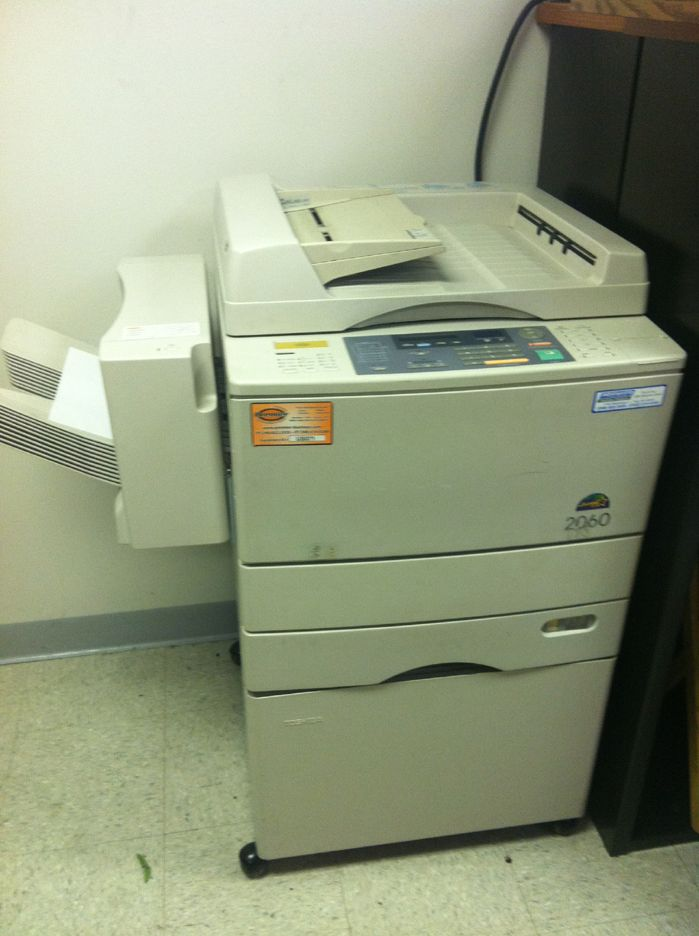 copy machine commercial