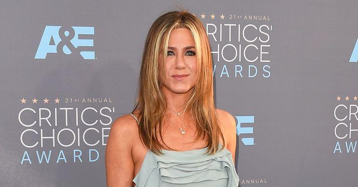 Jennifer Aniston's Flawless Hair Hasn't Changed Since the '90s http://www.popsugar.com/beauty/Jennifer-Aniston-Hair-2016-Critics-Choice-Awards-39837123