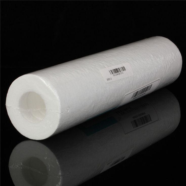5 Micron Purificateur D'eau 10 pouce Cartouche Osmose Inverse RO. Sédiments PP Coton Filtre Blanc Purificateur D'eau