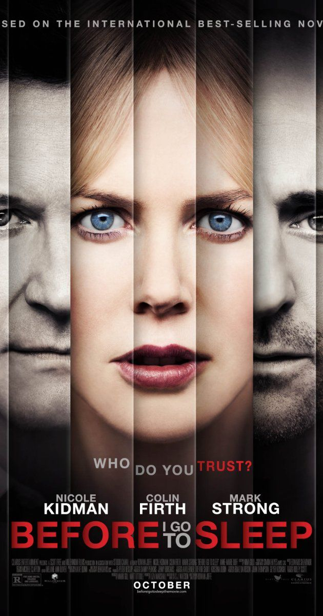 Directed by Rowan Joffe.  With Nicole Kidman, Colin Firth, Mark Strong, Anne-Marie Duff. A woman wakes up every day, remembering nothing as a result of a traumatic accident in her past. One day, new terrifying truths emerge that force her to question everyone around her.