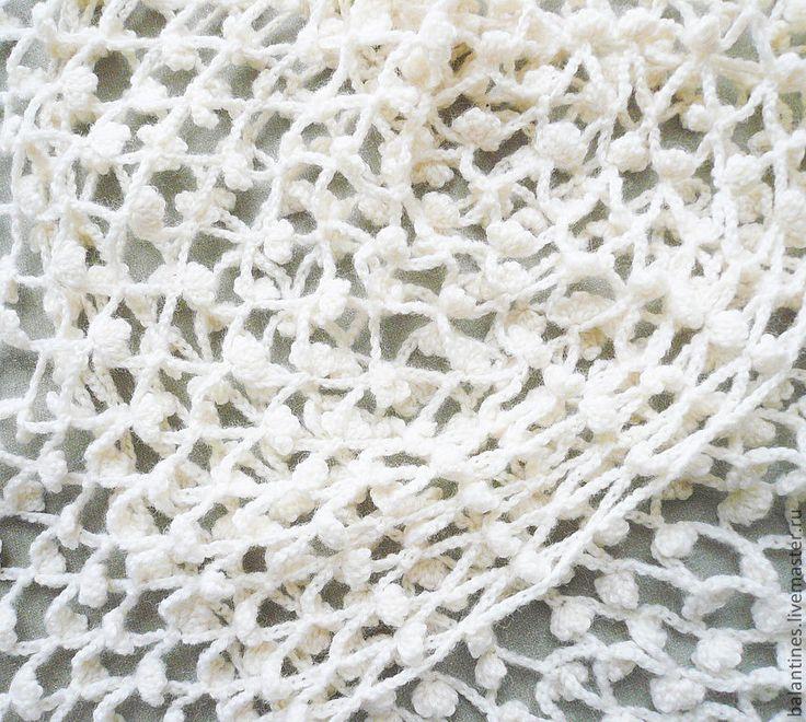 Buy Crochet wool shawl-stole scarf Made to order - crochet wool shawl