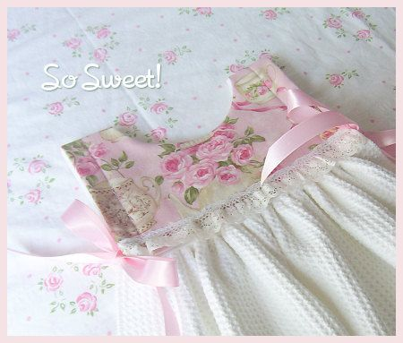 Rose Garden Tea Kitchen Towel Dress | Flickr - Photo Sharing!