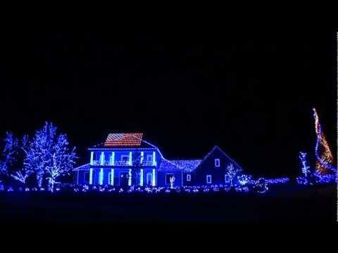 2011 Christmas Lights- Thank You Troops and Veterans!  Thanks for Your Votes! Richard Holdman's brilliance at play again.