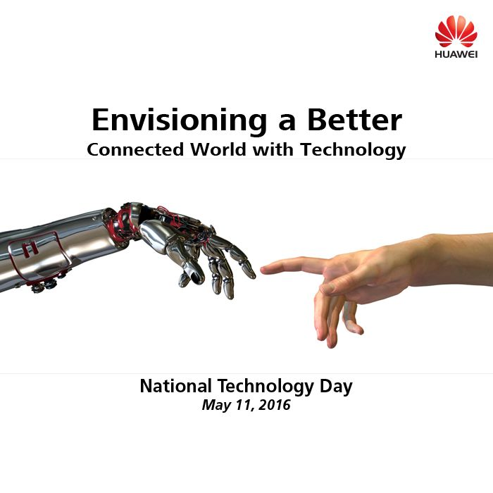 On this #NationalTechnologyDay, #Huawei pledges to relentlessly take India to the pinnacle of technological advancement