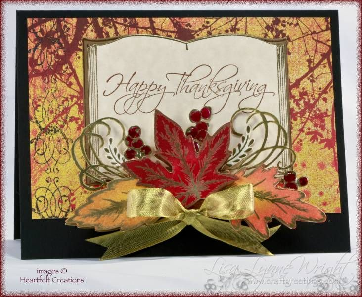 Card Making Ideas Thanksgiving Part - 29: Happy Thanksgiving By Llwright - Cards And Paper Crafts At  Splitcoaststampers