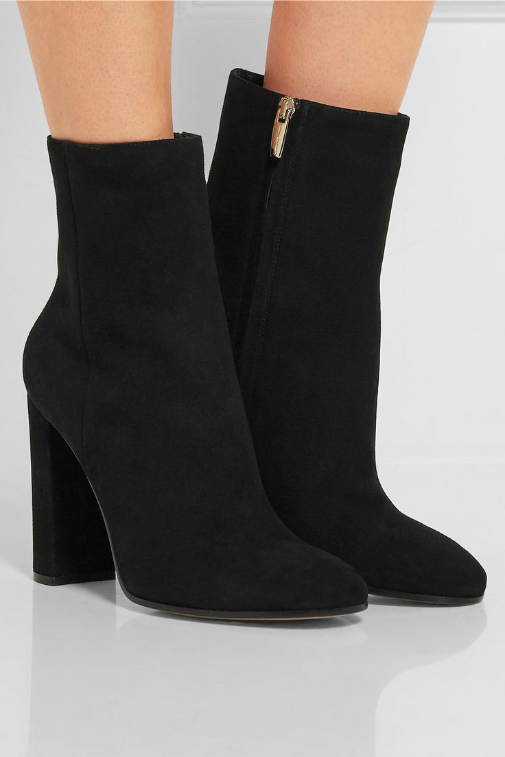 Gianvito Rossi | Suede boots | NET-A-PORTER.COM