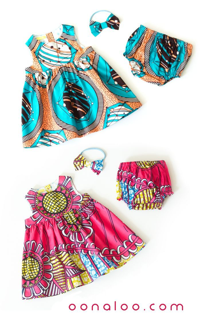 9be1afca336da These gorgeous baby dresses with matching Ankara baby headbands and  bloomers are made from 100% cotton in vibrant African print fabrics.