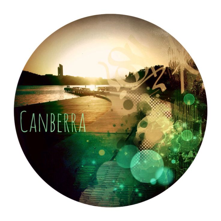 Wall decal- Canberra