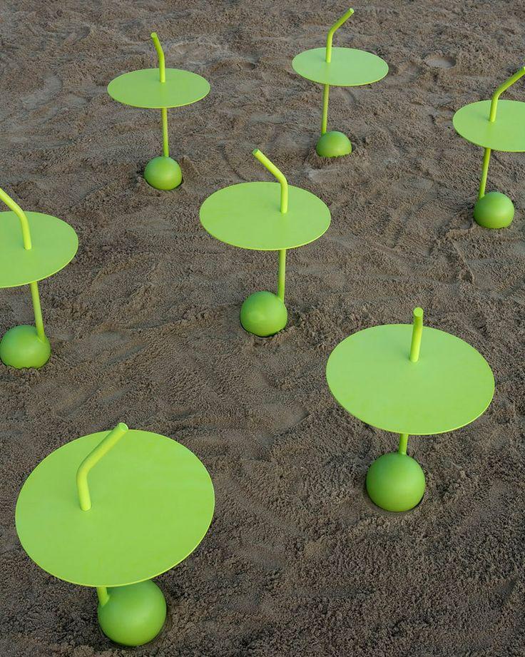 U0027Peanutu0027 Outdoor Table : Miki Astori For Driade