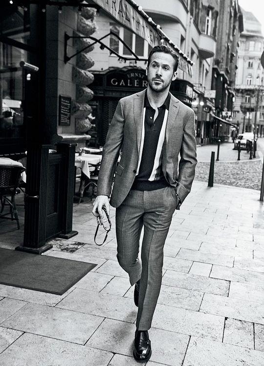 Ryan Gosling for GQ Magazine by Craig McDean