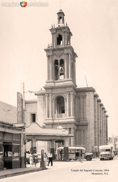 Monterrey, Templo del Sagrado Corazón, 1964